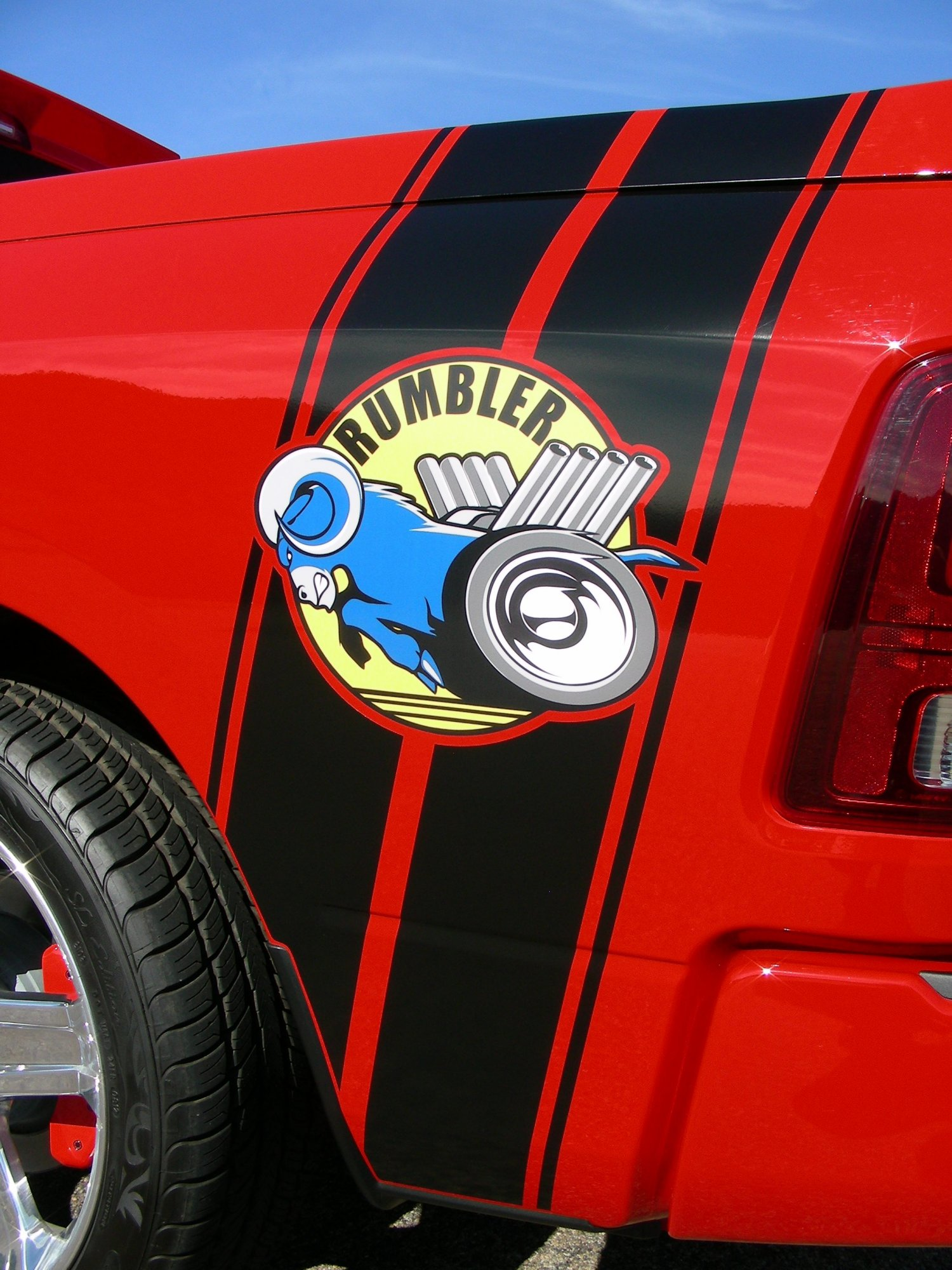 Rumbler on 2009 Dodge Ram 1500